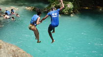Blue Hole plus Secret Falls and Dunns River Falls Combo from Falmouth Hotels, Falmouth, Cultural ...