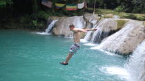 Blue Hole plus Secret Falls and Dunns River Falls Combo from Runaway Bay Hotels, Runaway Bay, ...
