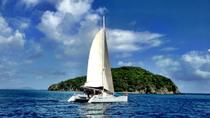 Catamaran Party Cruise and Dunn's River Falls Tour from Falmouth, Falmouth, Day Cruises