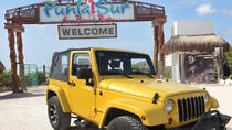 Jeep Tour in Cozumel with Snorkeling, Tequila Museum, Beach Club Lunch, Cozumel, Half-day Tours