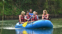 2-in-1 Arenal Volcano Combo Tour: River Safari Float and La Fortuna Waterfall, La Fortuna, Climbing