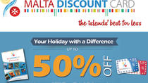 Carte Malta Discount Card - carte Holiday Card, La Valette