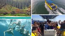 Snorkel and Sightseeing Tour on the Na Pali Explorer, Kauai, Kayaking & Canoeing