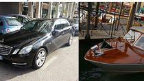 Private Limousine Transfer Treviso Airport to Venice City Center by Car and Water Taxi up 2Pax, ...