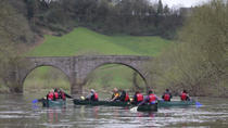 Full day Guided Canoe Trip down the River Wye, South West England