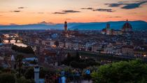 Hills of Florence Evening Walking Tour with Pizza Making Cooking Class, Florence, Private ...