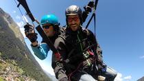 Tandem Paragliding Flight in Klosters, Davos, Paragliding