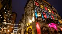 30-Minute Pedicab Christmas Lights Sightseeing Tour in Strasbourg, ストラスブール