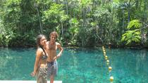 Tankah Park Five Cenotes Adventure Tour from Tulum, Tulum, Snorkeling