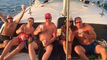Tour al tramonto in catamarano con open bar a Playa Flamingo, Playa Flamingo, Catamaran Cruises