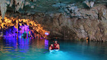 3-in-1 Discovery Combo Tour: Tulum Ruins, Akumal Turtles Plus Cenote and Caves, Cancun, Day Trips