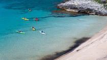 Kayaking at the foot of Mount Taygetos, Peloponnese, Kayaking & Canoeing