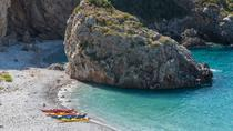 Kayaking at the foot of Mount Taygetos, Peloponnese, Kayaking & Canoeing