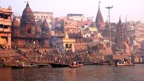 Full-Day Private Varanasi and Sarnath Tour including Ganges Boat Cruise, Varanasi