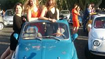 Fiat 500 vintage tour, Rome, Private Sightseeing Tours