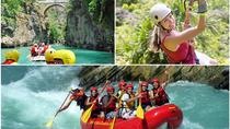 3 in 1 Rafting with Canyoning and Ziplining, Alanya, White Water Rafting