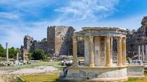 Ancient cities of Side and Aspendos and Kursunlu Waterfall from Alanya, Alanya, Historical & ...