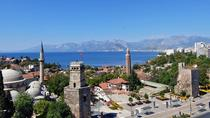 Antalya city tour with Duden Waterfall and Antalya Aquarium from Side, Side