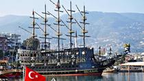 Pirate Ship with Alanya City visit with lunch and drinks, Belek, Day Cruises