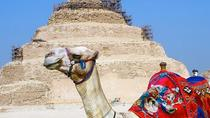 Great Pyramids, Saqqara and Memphis Private Day Tour, Cairo, null
