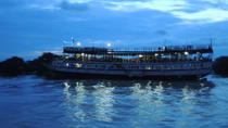Sunset Dinner on Tonle Sap Lake with a Floating Village Tour, Siem Reap, Night Cruises
