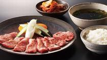 All-you-can-eat Yakiniku Dinner and Robot Show Ticket Package in Shinjuku, Tokyo, Food Tours
