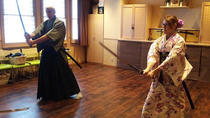 Authentic Japanese Sword Experience with Tea Ceremony, Japanese Calligraphy and Kimono Fitting ...