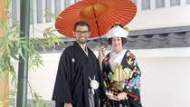 Japanese Shinto-Style Wedding Photo in Kimono including Kaiseki Dinner, Chiba, Photography Tours