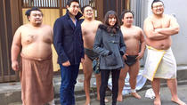 Sumo Practice Guided Morning Tour y Tokyo SkyTree Ticket, Tokio, Tours culturales