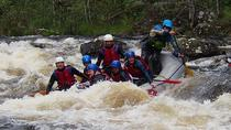 White Water Rafting Down The River Garry In The Scottish Highlands, Fort William