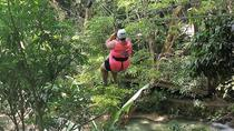 Falls Flyer Zipline and Dunn's River Falls Adventure Tour from Falmouth, Falmouth, 4WD, ATV &...