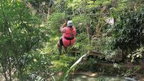 Falls Flyer Zipline and Dunn's River Falls Adventure Tour from Runaway Bay, Runaway Bay, 4WD, ATV &...