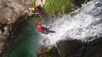 Full-Day Beginners' Canyoning Trip from Porto, Porto, Climbing