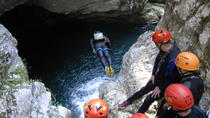 Canyoning in Nevidio Canyon, Montenegro, Climbing