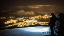 Night Ski Touring with Headlamps in the Sunnmøre Alps, Alesund, Night Tours