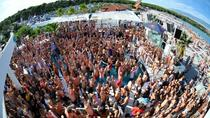 VIP Minibus Transfer to Zrce Beach Parties on Island Pag from Split, Split