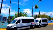 Arrival Transfer: Airport Shuttle Honolulu and Waikiki or Cruise Terminal, Oahu