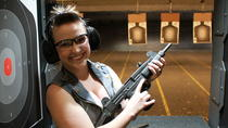 Sampler Experience at the Gun Garage, Las Vegas, Adrenaline & Extreme