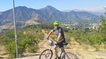 Private San Cristobal Hill Mountain Bike Tour, Santiago, Full-day Tours