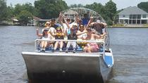 New Orleans Large Airboat Swamp Tour, New Orleans, Airboat Tours