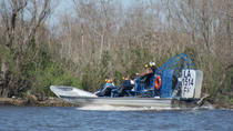 Small Group Airboat Swamp Tour, New Orleans, Airboat Tours