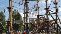 Zipline Adventure Park All Day Fun i West Yellowstone, Yellowstone National Park, Obstacle Courses