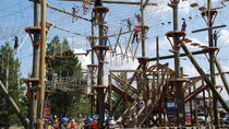 Zipline Adventure Park All Day Fun in West Yellowstone, Yellowstone National Park, Obstacle Courses