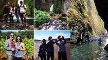 Columbia River Gorge Waterfall Hike, Paddleboarding and Kitesurfing Adventure, Portland, Eco Tours