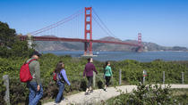 Spaziergang durch San Francisco: Fishermans Wharf zur Golden Gate Bridge, San Francisco, ...