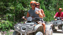 Akumal Full-Day Jungle ATV and Zipline Adventure Tour, Tulum, 4WD, ATV & Off-Road Tours