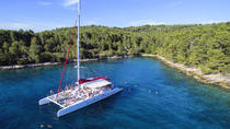 Brac Island Full-Day Catamaran Excursion With Unlimited Drinks, Split, Catamaran Cruises
