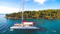 Full-Day Mega Catamaran Excursion to Hvar, Pakleni Islands, and Brac, Split, Catamaran Cruises