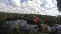 Mayan Jungle Experience in Tulum: Ziplining, Canoeing and Snorkeling, Tulum