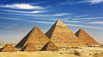 Full-day tour to Giza Pyramids Memphis and Sakkara, Cairo, null